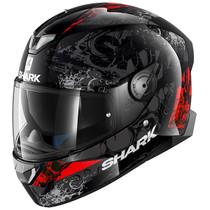 Shark Skwal 2 Nuk'Hem Helmet - Black / Red