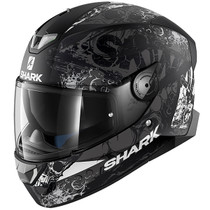 Shark Skwal 2 Nuk'Hem Helmet - Black / White