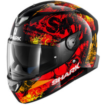 Shark Skwal 2 Nuk'Hem Helmet - Black / Red / Orange