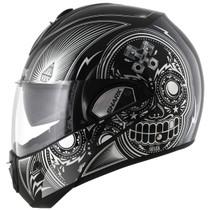 Shark Evoline S3 Mezcal Helmet - Black / Chrome