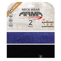 ARMR Moto Neck Tube 2 Pack - Denim