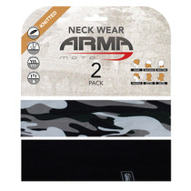 ARMR Moto Neck Tube 2 Pack - Camo