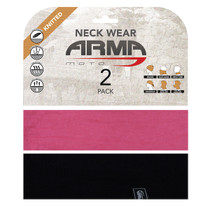 ARMR Moto Neck Tube 2 Pack - Pink
