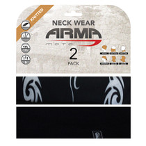 ARMR Moto Neck Tube 2 Pack - Tribal