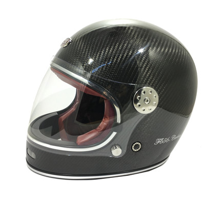 Viper F656 Vintage Helmet - Carbon Fibre