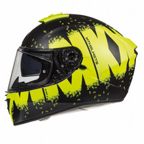 MT Blade 2 SV Oberon Helmet - Matt Black / Yellow