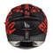 MT Blade 2 SV Check Helmet - Matt Black / Red