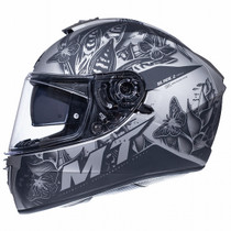 MT Blade 2 SV Breeze Helmet - Matt Black / Grey