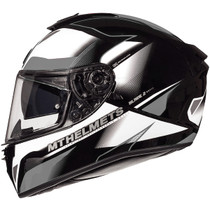 MT Blade 2 SV Fugue Helmet - White / Grey
