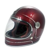 Viper F656 Vintage Helmet - Burgandy