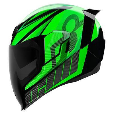Icon Airflite QB1 Helmet - Green