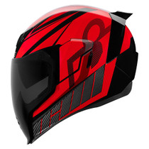 Icon Airflite QB1 Helmet - Red