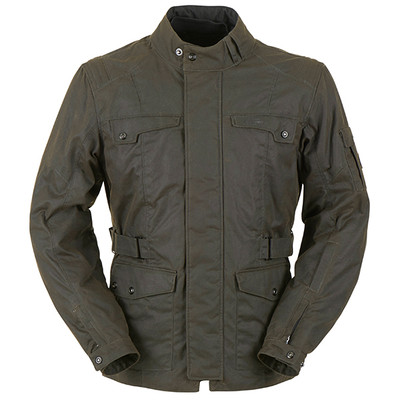 Furygan Thruxton Wax Jacket - Brown