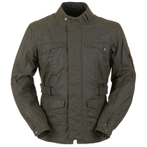Furygan Thruxton Wax Jacket - Brown