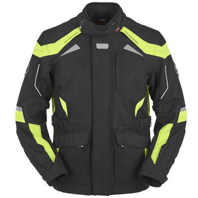 Furygan WR-16 Textile Jacket - Black / Yellow