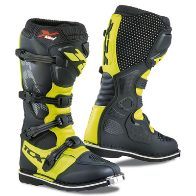 TCX X-Blast Motocross Boots - Black / Yellow