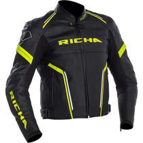 Richa Monza Jacket - Black / Yellow