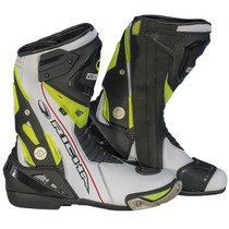 Richa Blade Waterproof Boots - White / Black / Flou Yellow