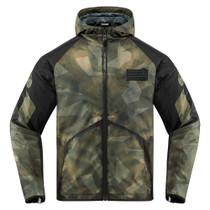 Icon Merc Battlescar Jacket - Green