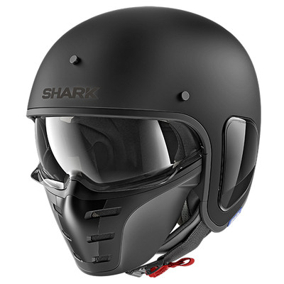 Shark S-Drak Helmet - Matt Black