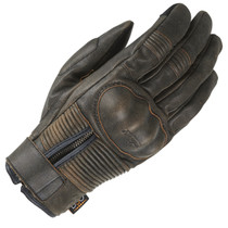 Furygan James Rusted D3O Gloves - Brown