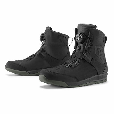 Icon Patrol 2 Waterproof Boots - Black