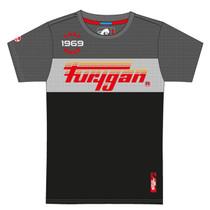 Furygan Herald T-shirt - Grey / Black / White