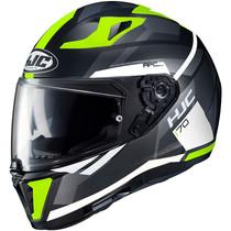 HJC I70 Elim Helmet - Black / Grey / Flou