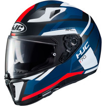 HJC I70 Elim Helmet - Red / Black / Blue