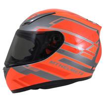 MT Revenge Zusa Helmet - Flu Orange / Red