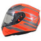 MT Revenge Zusa Helmet - Flu Orange / Red