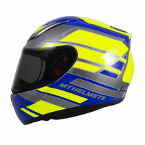 MT Revenge Zusa Helmet - Blue / Flu Yellow