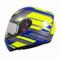 MT Revenge Zusa Helmet - Blue / Flu Yellow