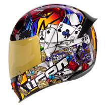 Icon Airframe Pro Lucky Lid 3 Helmet - Gold