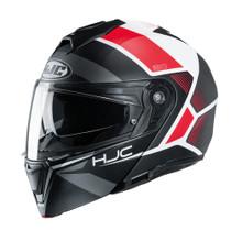 HJC i90 Hollen Flip Front Helmet - Red