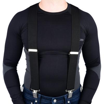 Oxford Riggers Braces - Black