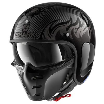 Shark S-Drak Carbon Dagon Helmet - Black