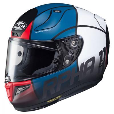 HJC RPHA 11 Quintain Helmet - Red / White / Blue