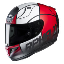 HJC RPHA 11 Quintain Helmet - Red / White