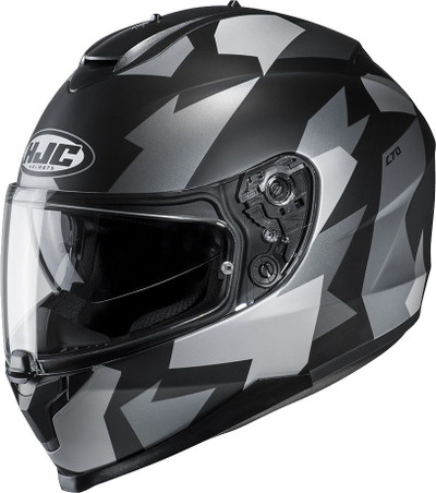 HJC C70 Valon Helmet - Black / Grey
