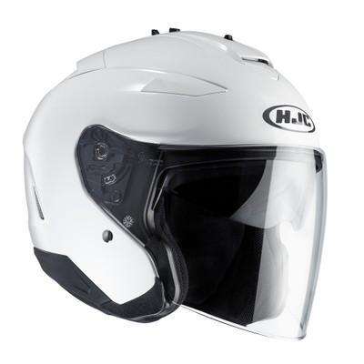 HJC IS-33 Open Face Helmet - White