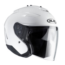 HJC IS-33 Open Face Helmet - White