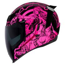 Icon Airflite Pleasuredome Redux Helmet - Pink