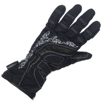 Richa Elegance Ladies Waterproo Textile Gloves - Black / Grey