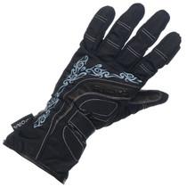 Richa Elegance Ladies Waterproo Textile Gloves - Black / blue