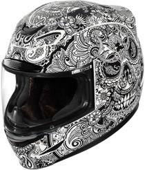 Icon Airmada Chantilly Helmet - white