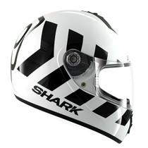 Shark S600 No Panic Helmet - White / Black