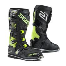TCX Pro 2.1 Motocross Boots - Black / Flou Yellow