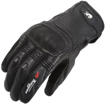 Furygan TD21 Leather Gloves - Black