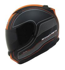 MT Blade SV Race Line Helmet - Matt Black / Orange
